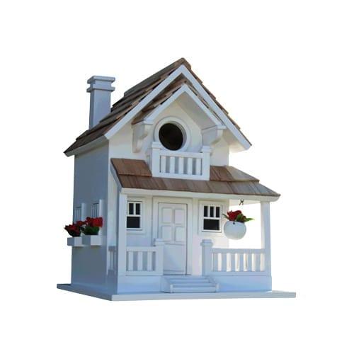 Backyard Bird CottageWhite | Garden Hub